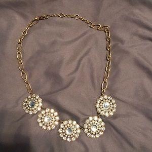 J. Crew statement collar necklace